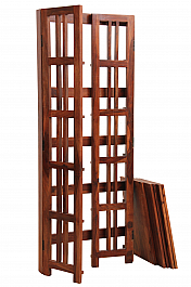 Tall Wooden Stylish Bookcase