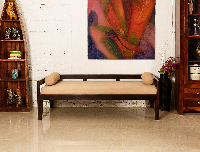 Lovely Indian Bench Daybed (Divan) :: Indo Fusion ...