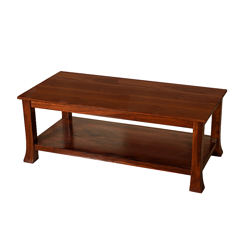 Yuvan Japanese Classic Design Centre Table :: Plain Rectangle ...