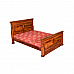 Britannica Queen size bed Nicely carving detail Wooden Patina