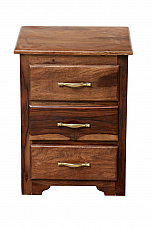 Twogether :: Sheesham  Nightstand chest of drawer