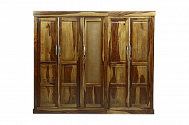 Ethina Wall to wall wardrobe almira solid wood