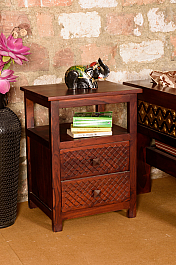 Filigree Black :: Sheesham End Table