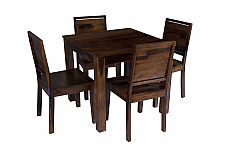 Arabia Solid Wood 4 Seater Dining Set
