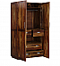 Wardrobe with Solid wood Character of sheesham