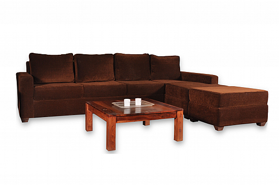 Mocha Coziness :: L shaped Couch :: Comfy
