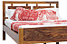 Cozy Two :: A Compact Sheesham Wood Queen Bed