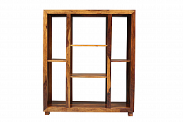 Dakota Bookshelf - Display cabinet Teak finish