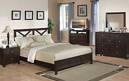 Stylish Wooden Bedroom Set