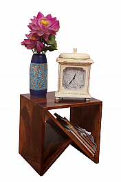 W End Table :: Contempo