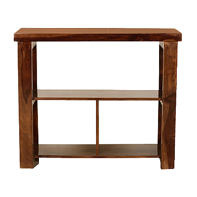 Motley Bookshelf Endtable Showcase :: Contempo
