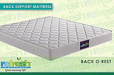 REFRESH MATTRESS BEST FOR BACK PROBLEM 72x60 (125mm thick)
