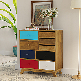 Retro chest of Drawer add color