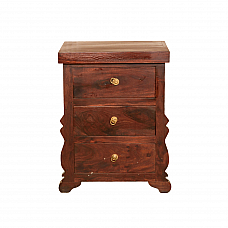 Ethnic Bedside cabinet,  Chest of drawer Sheesham wood