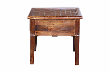 Chess board Table end table :: Fun unlimited