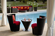 Garderin Furniture desginer garden chair with table set of 3 pcs