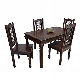 Tastefully Traditional :: Sheesham Dining Table