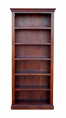 Open Wooden Bookcase