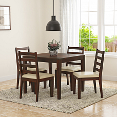 Siner Solid wood 4 Seater Dining Set - NEW ARRIVAL