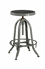 Industrial Iron Stool elegance