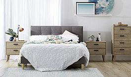 Swanky Modern Bedroom set of 4pcs