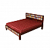 Zara-Sim Tile bed Queen size ethnic style add color to your dream