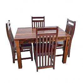 Alfam designer  Wooden Dining table and chair set