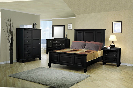 Stylish Solid  Wooden Bedroom Set