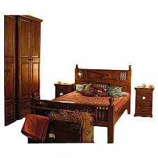 Modern Wooden Bedroom Set