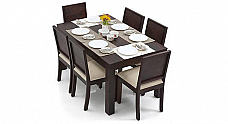 Chicory Dining table set of 6 chair Espresso finish