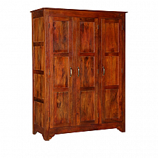 Indica 3 Door Wardrobe Ethnic Outlook  and Modern Interior !!