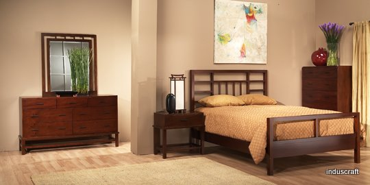 Simple & Unique Shaker Bedroom Set