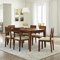 Disa Solid Wood Dining Set