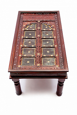 Doorway to Rajasthan Centre Table :: Roots Rerun