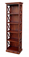 Solid Wood Cross Bookshelves