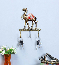 Camel Three Hook Key Hanger