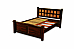 Euphoria Classic designer Queen Size Bed with Drawer storage