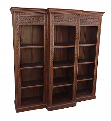 Carved bookshelf Gorgeous Furniture for library
