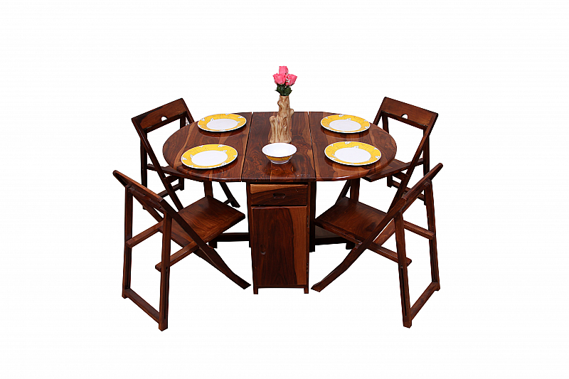 Spicy Oval shape Dining set folding chair and Table set of  : PRD27875PRD27875IMG7925 800x800 from www.induscraft.com size 800 x 533 jpeg 225kB