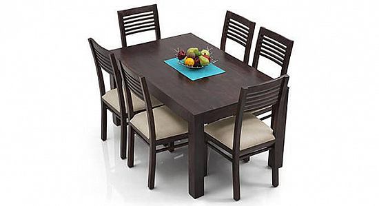 Advent High Back chair-table set six seater