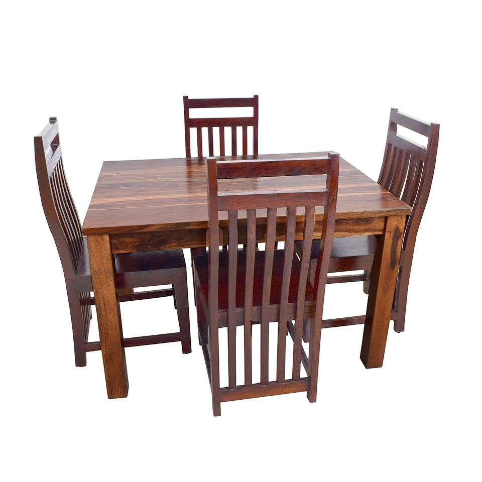 Alfam UK favourite design of Wooden dining table and chair set