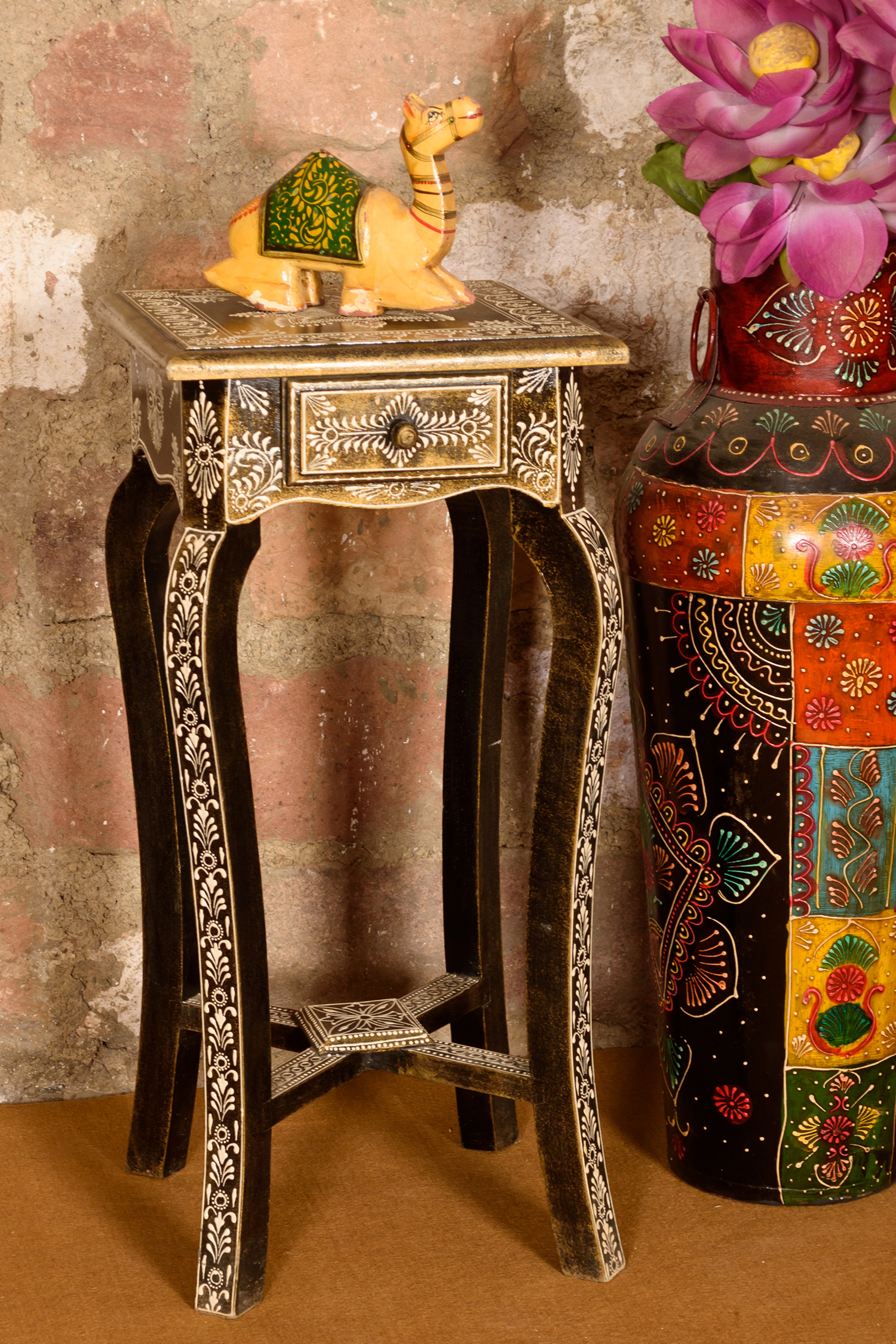 Roots Rerun End Table with Drawer